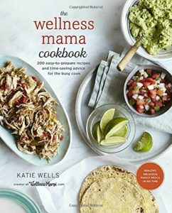 The Wellness Mama Cookbook is over easy-to-prepare 200 recipes and I am loving it! Enter here for a chance to win your own copy in this cookbook giveaway!