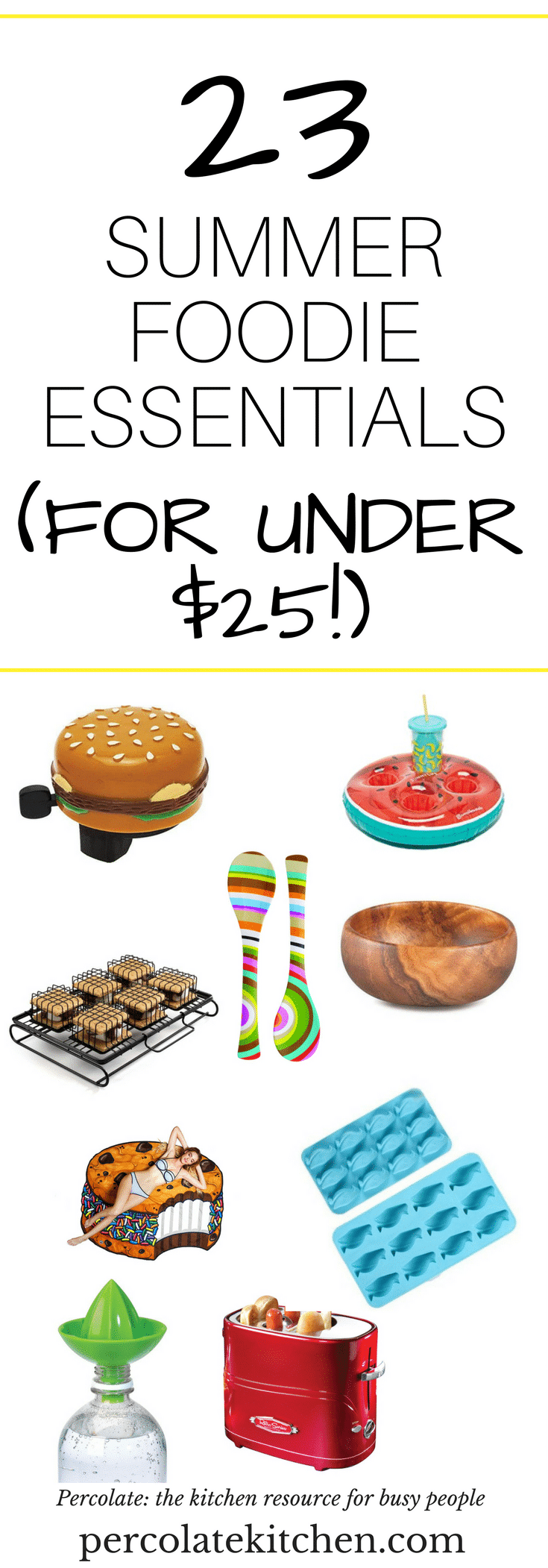 Hot weather in spring makes my 'Buy It Now' button pressing a little overzealous! You'll love this collection of fun foodie finds- especially the first one! Which will you buy? Click to see which is the best bang for your buck- you'll be surprised!