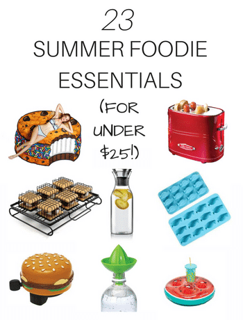 You'll never believe which of these summer foodie essentials is the best bang for your buck! Check out this collection of fun foodie finds from Amazon.com