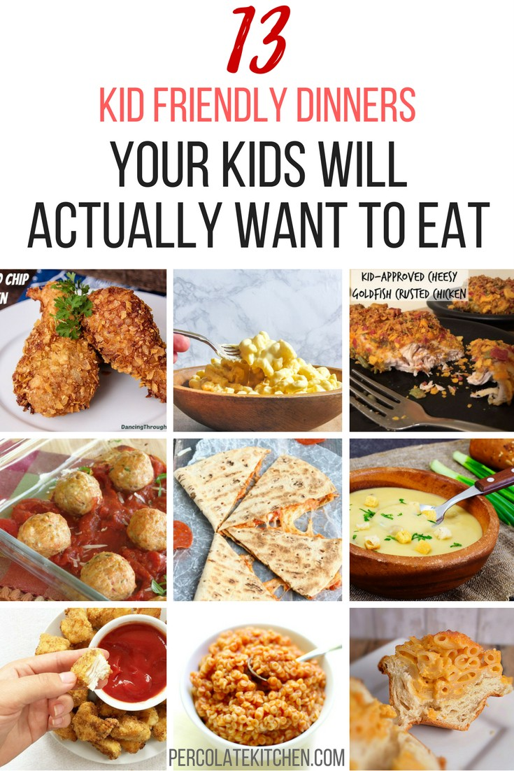 Here Are 13 Quick And Easy Kid Friendly Recipes