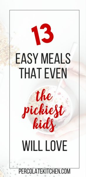 I got so many great ideas from this list! My kids basically only eat beige food, lol. But they LOVED the mac and cheese and also the goldfish crusted chicken. can't wait to try more of these recipes for my picky toddler!