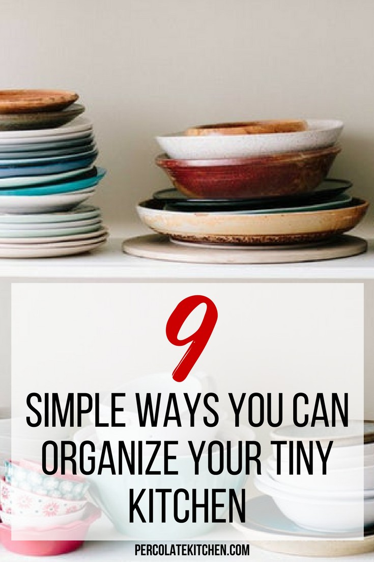 My tiny rental kitchen drives me insane lately! I feel like i can never get good kitchen organization going and i never can find things when I need them. I like how she lays out a bunch of different ideas here so you can find something that works for your tiny space, on a budget and diy.