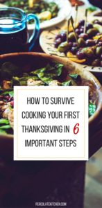 Thanksgiving Survival Guide | Percolate Kitchen (click to read the full post!)