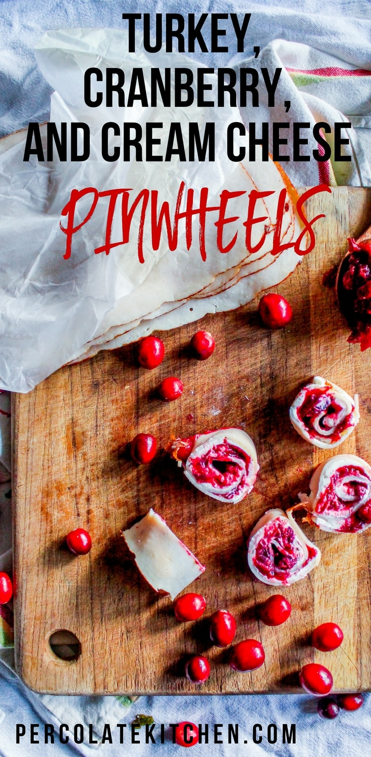 Up your finger food and party appetizer game with this super easy pinwheels! Just three ingredients and a few minutes to make, these are a crowd-pleaser.