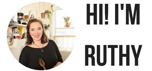 Hi! I'm Ruthy of Percolate Kitchen