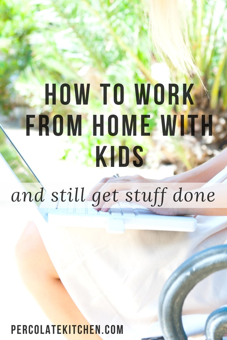How Moms Can Work From Home Without Going Crazy: YES! Haha, I so needed to read this. I never thought how hard it would be to work from home with kids, but it so is- and she has some great strategies for getting work done while kids are home.