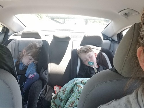 I'm so nervous about driving a solo road trip with kids, but she makes me a feel a ton better! Great list and ideas of what to bring and do to make the trip go faster and keep the kids occupied.