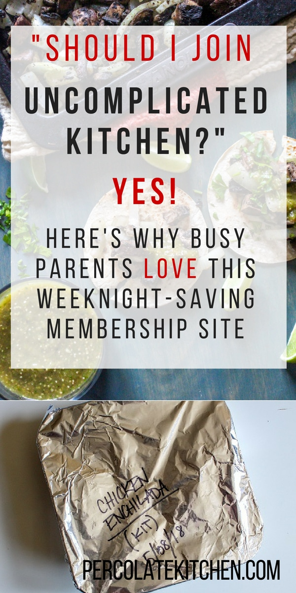 Here's Why You Should Join Uncomplicated Kitchen, the Membership Site for Working Parents